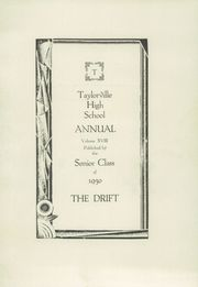 Page 5, 1930 Edition, Taylorville High School - Drift Yearbook (Taylorville, IL) online yearbook collection