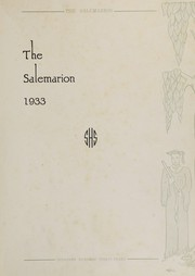 Page 5, 1933 Edition, Salem Community High School - Salemarion Yearbook (Salem, IL) online yearbook collection