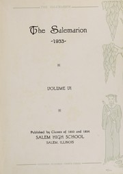 Page 7, 1933 Edition, Salem Community High School - Salemarion Yearbook (Salem, IL) online yearbook collection