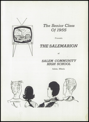 Page 5, 1955 Edition, Salem Community High School - Salemarion Yearbook (Salem, IL) online yearbook collection