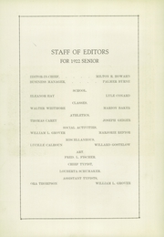 Page 8, 1922 Edition, Ottawa Township High School - Senior Yearbook (Ottawa, IL) online yearbook collection
