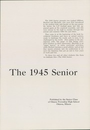 Page 7, 1945 Edition, Ottawa Township High School - Senior Yearbook (Ottawa, IL) online yearbook collection
