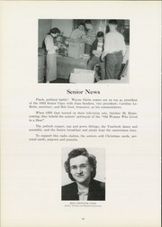 Page 16, 1952 Edition, Ottawa Township High School - Senior Yearbook (Ottawa, IL) online yearbook collection