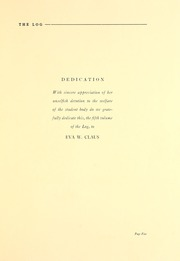 Page 11, 1927 Edition, Tuley High School - Log Yearbook (Chicago, IL) online yearbook collection