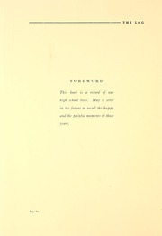 Page 12, 1927 Edition, Tuley High School - Log Yearbook (Chicago, IL) online yearbook collection