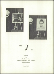 Page 5, 1952 Edition, Jersey Community High School - J Yearbook (Jerseyville, IL) online yearbook collection
