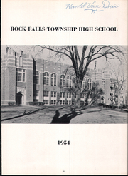 Page 7, 1954 Edition, Rock Falls High School - Cavalcade Yearbook (Rock Falls, IL) online yearbook collection