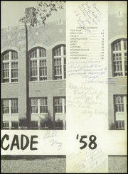 Page 7, 1958 Edition, Rock Falls High School - Cavalcade Yearbook (Rock Falls, IL) online yearbook collection