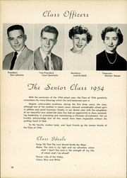 Page 14, 1954 Edition, Luther North High School - Log Yearbook (Chicago, IL) online yearbook collection