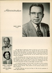 Page 9, 1954 Edition, Luther North High School - Log Yearbook (Chicago, IL) online yearbook collection