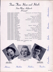 Page 15, 1942 Edition, Lourdes High School - Lourdian Yearbook (Chicago, IL) online yearbook collection