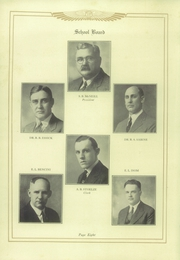 Page 12, 1929 Edition, Murphysboro High School - Crimson and Corn Yearbook (Murphysboro, IL) online yearbook collection
