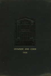 Page 1, 1936 Edition, Murphysboro High School - Crimson and Corn Yearbook (Murphysboro, IL) online yearbook collection