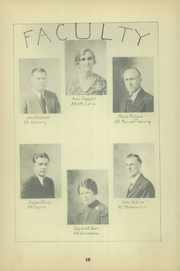 Page 14, 1936 Edition, Murphysboro High School - Crimson and Corn Yearbook (Murphysboro, IL) online yearbook collection