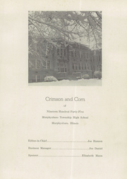 Page 5, 1945 Edition, Murphysboro High School - Crimson and Corn Yearbook (Murphysboro, IL) online yearbook collection