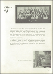 Page 13, 1945 Edition, Herrin High School - Tatler Yearbook (Herrin, IL) online yearbook collection