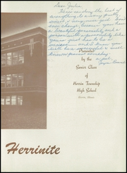 Page 7, 1947 Edition, Herrin High School - Tatler Yearbook (Herrin, IL) online yearbook collection