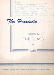 Page 5, 1954 Edition, Herrin High School - Tatler Yearbook (Herrin, IL) online yearbook collection