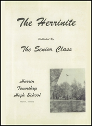 Page 5, 1956 Edition, Herrin High School - Tatler Yearbook (Herrin, IL) online yearbook collection