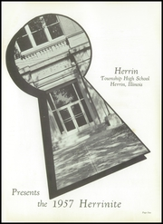 Page 5, 1957 Edition, Herrin High School - Tatler Yearbook (Herrin, IL) online yearbook collection