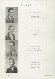Page 16, 1949 Edition, Mount Zion High School - Zionoiz Yearbook (Mount Zion, IL) online yearbook collection