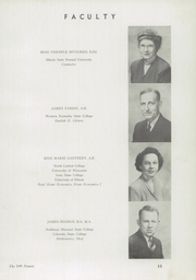 Page 17, 1949 Edition, Mount Zion High School - Zionoiz Yearbook (Mount Zion, IL) online yearbook collection