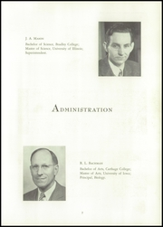Page 11, 1947 Edition, Effingham High School - Signet Yearbook (Effingham, IL) online yearbook collection