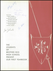 Page 5, 1960 Edition, Brother Rice High School - Crusader Yearbook (Chicago, IL) online yearbook collection