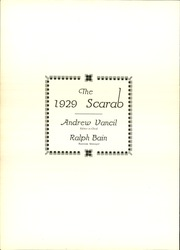 Page 6, 1929 Edition, Benton Township High School - Scarab Yearbook (Benton, IL) online yearbook collection