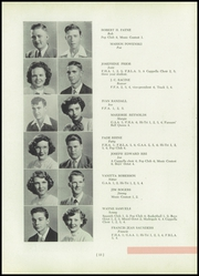 Page 17, 1951 Edition, Benton Township High School - Scarab Yearbook (Benton, IL) online yearbook collection