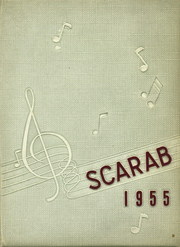 1955 Edition, Benton Township High School - Scarab Yearbook (Benton, IL)