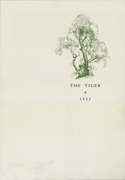 Page 5, 1933 Edition, Princeton High School - Tiger Yearbook (Princeton, IL) online yearbook collection