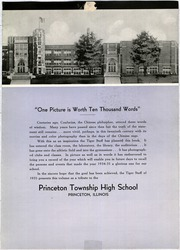 Page 7, 1935 Edition, Princeton High School - Tiger Yearbook (Princeton, IL) online yearbook collection