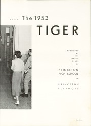 Page 13, 1953 Edition, Princeton High School - Tiger Yearbook (Princeton, IL) online yearbook collection