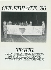 Page 5, 1986 Edition, Princeton High School - Tiger Yearbook (Princeton, IL) online yearbook collection