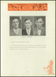 Page 113, 1929 Edition, Frankfort Community High School - Red Bird Yearbook (West Frankfort, IL) online yearbook collection