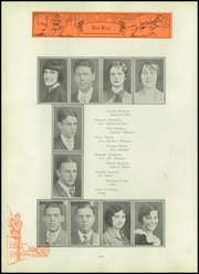Page 58, 1929 Edition, Frankfort Community High School - Red Bird Yearbook (West Frankfort, IL) online yearbook collection