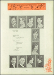 Page 59, 1929 Edition, Frankfort Community High School - Red Bird Yearbook (West Frankfort, IL) online yearbook collection