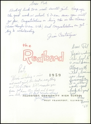 Page 5, 1959 Edition, Frankfort Community High School - Red Bird Yearbook (West Frankfort, IL) online yearbook collection