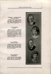 Page 17, 1921 Edition, Kewanee High School - Kewanite Yearbook (Kewanee, IL) online yearbook collection