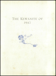 Page 5, 1947 Edition, Kewanee High School - Kewanite Yearbook (Kewanee, IL) online yearbook collection
