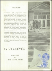 Page 7, 1947 Edition, Kewanee High School - Kewanite Yearbook (Kewanee, IL) online yearbook collection