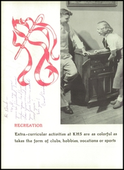 Page 14, 1951 Edition, Kewanee High School - Kewanite Yearbook (Kewanee, IL) online yearbook collection