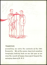 Page 19, 1951 Edition, Kewanee High School - Kewanite Yearbook (Kewanee, IL) online yearbook collection