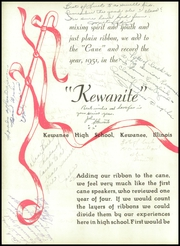 Page 6, 1951 Edition, Kewanee High School - Kewanite Yearbook (Kewanee, IL) online yearbook collection
