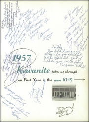 Page 5, 1957 Edition, Kewanee High School - Kewanite Yearbook (Kewanee, IL) online yearbook collection