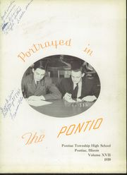 Page 7, 1939 Edition, Pontiac Township High School - Pontio Yearbook (Pontiac, IL) online yearbook collection