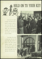 Page 10, 1950 Edition, Macomb High School - Spiderweb Yearbook (Macomb, IL) online yearbook collection