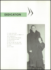 Page 9, 1957 Edition, St Benedict High School - Benoit Yearbook (Chicago, IL) online yearbook collection