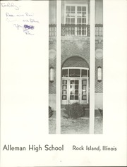 Page 3, 1965 Edition, Alleman High School - Pioneer (Rock Island, IL) online yearbook collection